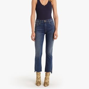 Mother Insider Crop Step Jeans Not Rough Enough